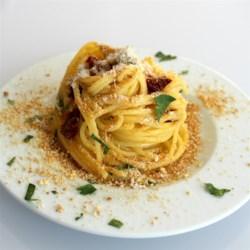 sicilian spaghetti printer friendly