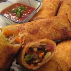 Photo of Authentic Chinese Egg Rolls (from a Chinese person) by Mendy L