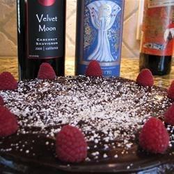 Warm Floutless Chocolate Cake