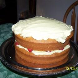 mock lemon chiffon cake