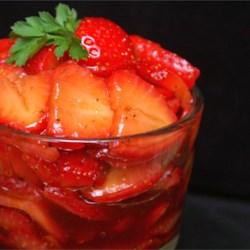 Sweet and Tart Strawberry Salad