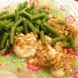 Garlic Dijon Crusted Catfish