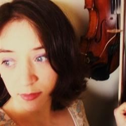 me and my violin