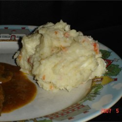 Spruced Up Mashed Potatoes