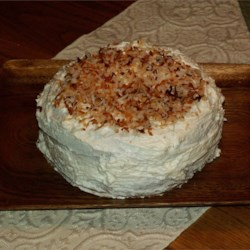 Perfumed Coconut Cake