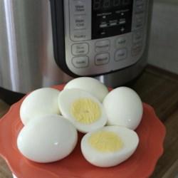 pressure cooker hard boiled eggs printer friendly