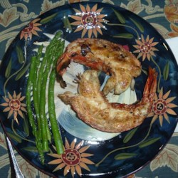 grilled rock lobster tails are tasty