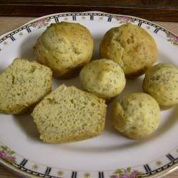 Photo of Gluten-Free Lemon-Poppy Seed Muffins by Kytchyn Wytch