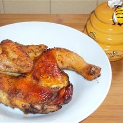 Honey-Poppy Seed Cornish Hens Recipe