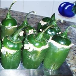 Stuffed Jalapenos with Smoked Gouda and Pineapple Recipe