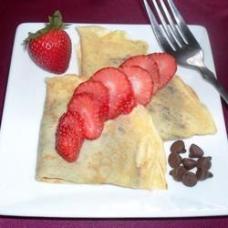 my first crepes