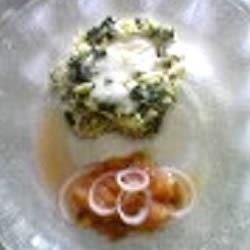 light spinach frittata with tomato salsa printer friendly