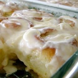 Carolyn's Orange Rolls Recipe