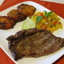 Caribbean Beef Loin Steaks Recipe