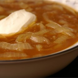 Creamy Onion Soup Recipe