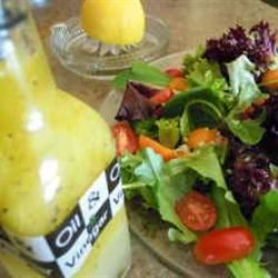 Lebanese Lemon Salad Dressing Recipe