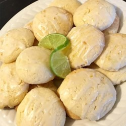 Lemon-Lime Cookies with Lactaid(R) Cottage Cheese