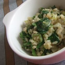 Emerald Green Risotto Recipe