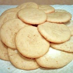 Powdered Sugar Cookies I Recipe