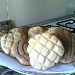 Conchas (Mexican Sweet Bread) Recipe