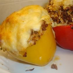 Photo of South-of-the-Border Stuffed Peppers by omgheather