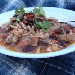 Jerre's Black Bean and Pork Tenderloin Slow Cooker Chili Recipe