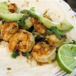 Photo of Shrimp Tacos with Avocado Tomatillo Salsa by McCrazy