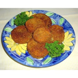 """""""Easy Fried Eggplant"""" Photographed by Cindy!"""