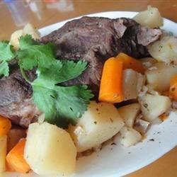 Slow Cooker Mock-Roast
