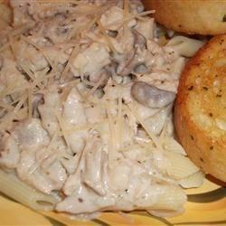 Creamy Mushroon Pasta