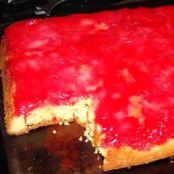 Rhubarb Upside Down Cake I Recipe