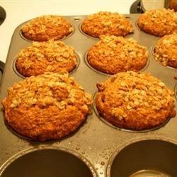 Raisin Applesauce Muffins