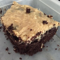 Dark German Chocolate Cake