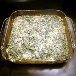 Savory Spinach Casserole Recipe