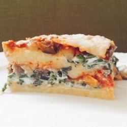 Polenta Lasagna with Roasted Vegetables
