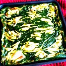 Marbled Spinach Brownie
