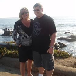 At the beach house, Cambria, CA