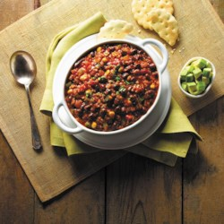 quinoa and black bean chili from goya r printer friendly
