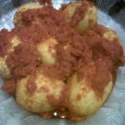 Telur Balado (Spicy Chile Sauce with Eggs) Recipe