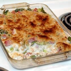 Photo of Asparagus and Ham Casserole by Helen  Ostronic