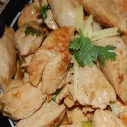Kim's Stir-Fried Ginger Garlic Chicken