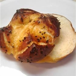 Soft Pretzel Hamburger buns