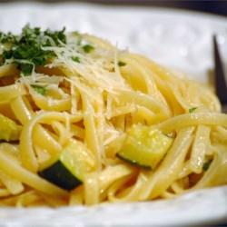 Creamy Zucchini with Linguine