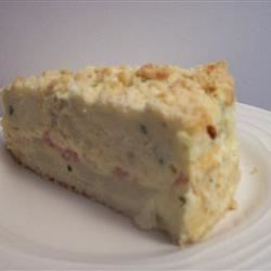 Larkspur's - Savory Triple Cheese Potato Cake with Ham