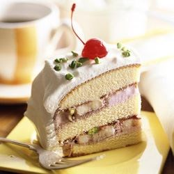 Creamy White Layer Cake