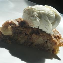 Skillet Apple Brownie--MomZilla's (Evin) personal recipe