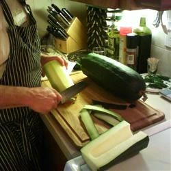 The Big Zucchini - From our garden