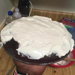 Thirty Minute Cocoa Cake With Quick Cocoa Frosting