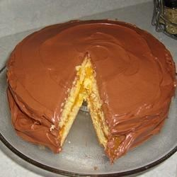 Photo of Boston Cream Cake by Glenda