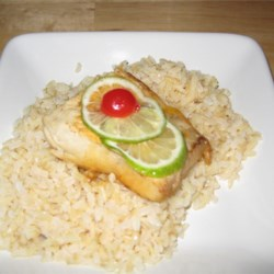 Lime-Poached Mahi Mahi Recipe
